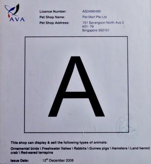 AVA-Petmart A rating