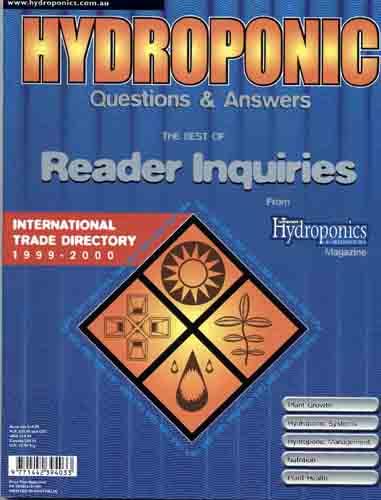 Book Hydroponics Q and A