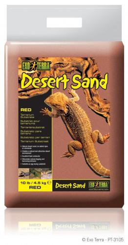 Exo Terra Dripper Plant Drip Watering System: Exo-Terra PT3103 Desert Sand Yellow 4.5 Kg 10 Lb