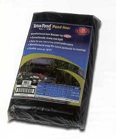 Tetra pond liners petmart pte ltd for Koi pond liner calculator
