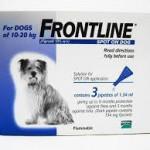 frontline 10-20 kg dogs